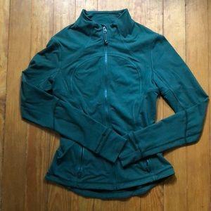 Lululemon size 6 forest green define jacket